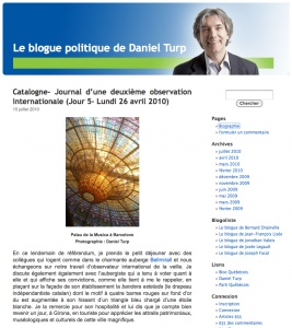Blogue politique de Daniel Turp