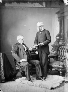 The Hon. Luc Letellier de St-Just (Lieutenant-Governor of Quebec) and the Hon. Henri-Gustave Joly De Lotbinière (Premier of Quebec), 1879