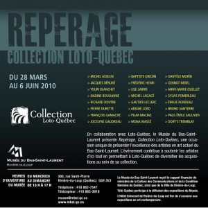 Poster for Collection Loto-Québec's Repérage sales exhibit program , 2010