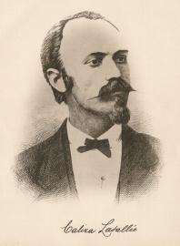 Le compositeur Calixa Lavallée (1842-1891)
