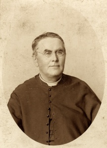 Father Camille Lefebvre, founder of Collège Saint-Joseph in Memramcook