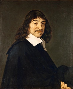 Portrait du philosophe Rene? Descartes (1596-1650)