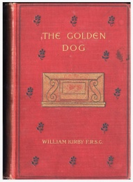 Cover, The Golden Dog (Boston: L.C. Page, 1897)