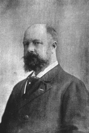 Le consul Alfred Kleczkowski vers 1900
