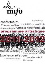 Poster promoting MIFO's 2011–2012 programming
