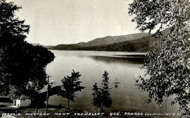 The Pinoteau manor, one of the first points of access to Lac Tremblant, © BAnQ