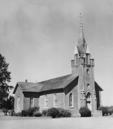 Église catholique St-Paul © Oregon Historical Society
