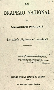 Book published by the Comité de Québec in 1904