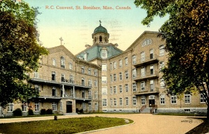 Postcard showing Couvent de Saint-Boniface