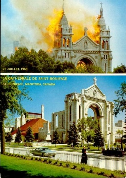 The 1968 cathedral fire