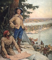 Arthur H. Hider, La Vrendrye at Lake of the Woods, BAC