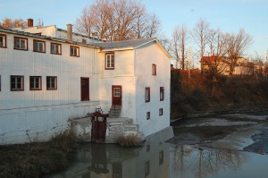 The Légaré Flour Mill after its 2007 restoration