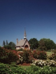 L'église-souvenir de Grand-Pré.  Collection Parcs Canada
