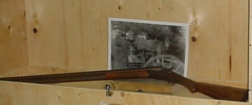 Théophile Brunelle's Rifle