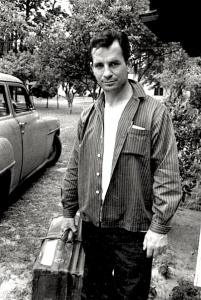 Jack Kerouac in Florida, 1958.