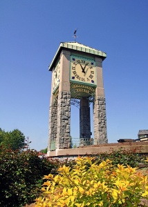 Maillardville clock tower, 2007