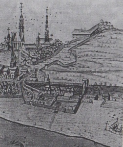 Quebec city seen from the north west, 1699