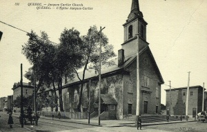 Église Jacques-Cartier, vers 1880