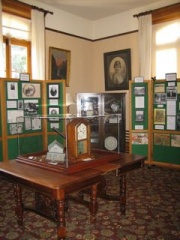 The Parlour Transformed into an Interpretive Centre