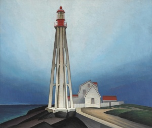 Lighthouse, Father Point, 1930