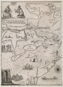 1657 Map of New France