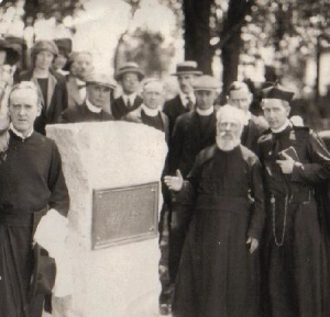 Unveiling of a monument erected on the site of Sainte-Marie-among-the-Hurons, on June 21st, 1925
