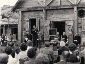 Official opening of the Sainte-Marie-among-the-Hurons site in 1967