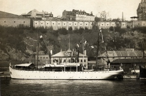 Steamship near Quebec, 1930