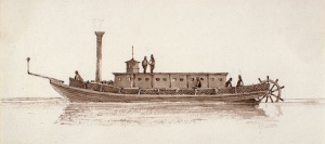 The Steamship «Iroquois», 1832