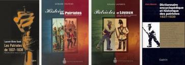 Quelques-uns des ouvrages récents consacrés aux patriotes