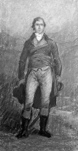 Un patriote de 1837 (peint vers 1947)