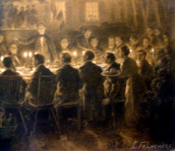The founding banquet of the Saint-Jean-Baptiste Society of Montreal, 1834, SSJB de Montréal