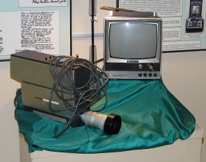 Equipment used by Father Lemieux to record sound and video documents
