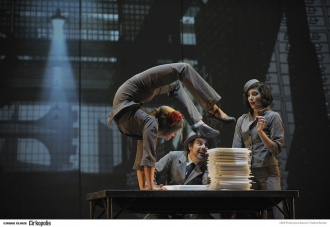Cirkopolis, production du Cirque Éloïze, 2012