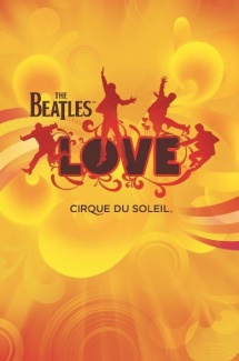 Affiche de «The Beatles LOVE», spectacle du Cirque du Soleil, 2006