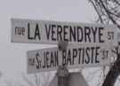 Intersection, La Vrendrye and St-Jean-Baptiste streets,  David Dandeneau