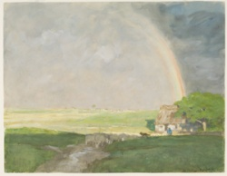 Horatio Walker, L'Arc-en-ciel, 1893. MNBA.