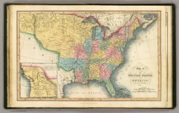 Map of the United States in 1832; David Rumsey Map Collection