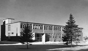 Edmonton: Saint John College, classroom building, 1961. Missionary Oblates (Grandin Archives)