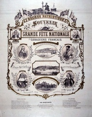 Souvenir from the French-Canadian National Holiday (June 24th, 1880), BAnQ