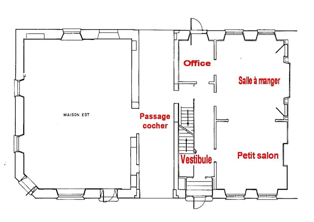 plan de maison en anglais